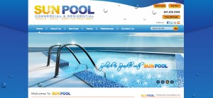 pool cleaning web design