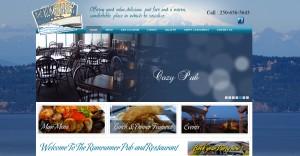restaurant web design victoria bc